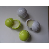Golf Ball and Tennis Ball Lip Balm
