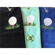 Nearest the Pin Vegas Chip Golf Ball Marker and Generic Golf Towel (3)
