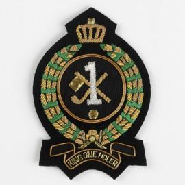 Hole in One/King Oneholer Golf Blazer Badge