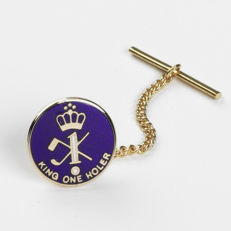 King Oneholer/Hole in One Golf Tie Tac