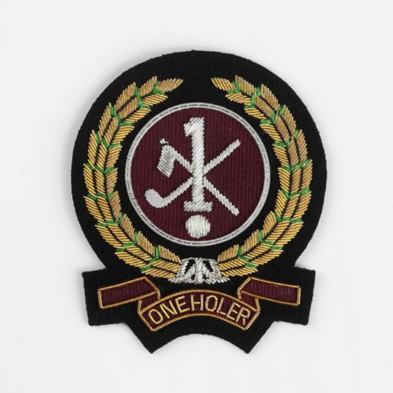 Hole in One/Oneholer Golf Blazer Badge