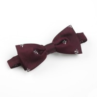 Hole in One/Oneholer Bow Tie Maroon Ready Tied