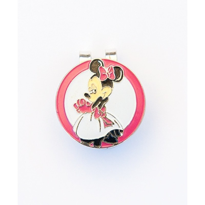 Golf Ball Marker Visor Hat Clip Minnie Mouse